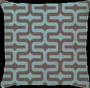 Capa de Almofada IPA Azul Claro Bege