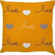 Capa Angra Premium Love Amarelo/Cinza