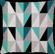 Capa de Almofada Tumblr Azul Turquesa