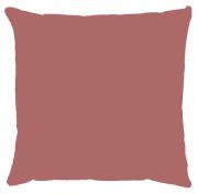 Capa de Almofada Lisa Veludo Rosa Antigo