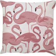 Capa de Almofada Flamingo Rosa