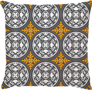 Capa Grega Amarelo/Cinza
