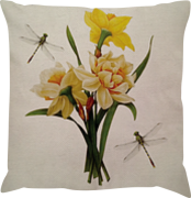 Capa de Almofada Linho Narciso