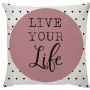 Capa Personalizada Frase Live Your Life