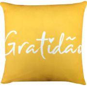 Capa Personalizada Gratidão Amarela