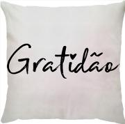 Capa Personalizada Gratidão Branca