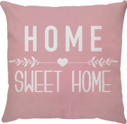 Capa Personalizada Home Sweet Home Rosa