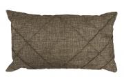 Capa Retangular Drapeada Marrom