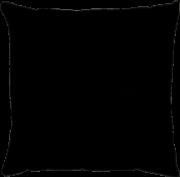Capa de Almofada Lisa Veludo Preto