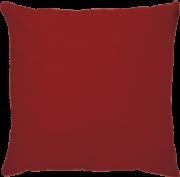 Capa de Almofada Lisa Veludo Vermelho