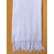 Manta para Sofá Chenille Branco 1,20x1,80