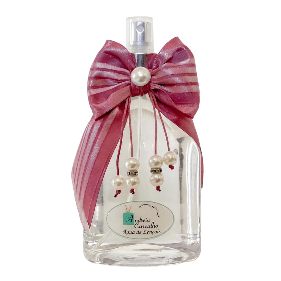 Água de Lençóis Crazy Smell c/ Laço Rosa Antigo 500 ml