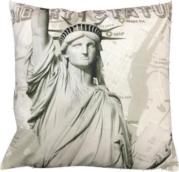 Capa de Almofada Estatua da Liberdade