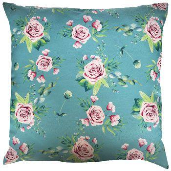 Capa Angra Floral Turquesa/Rosa