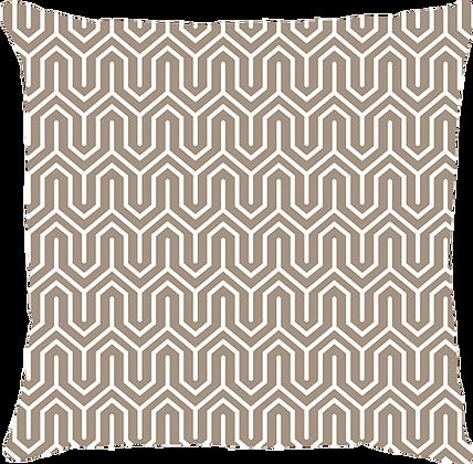 Capa de Almofada Labirinto Bege