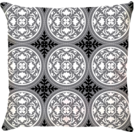 Capa de Almofada Athenas Preto