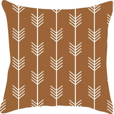 Capa de Almofada Flechas Caramelo