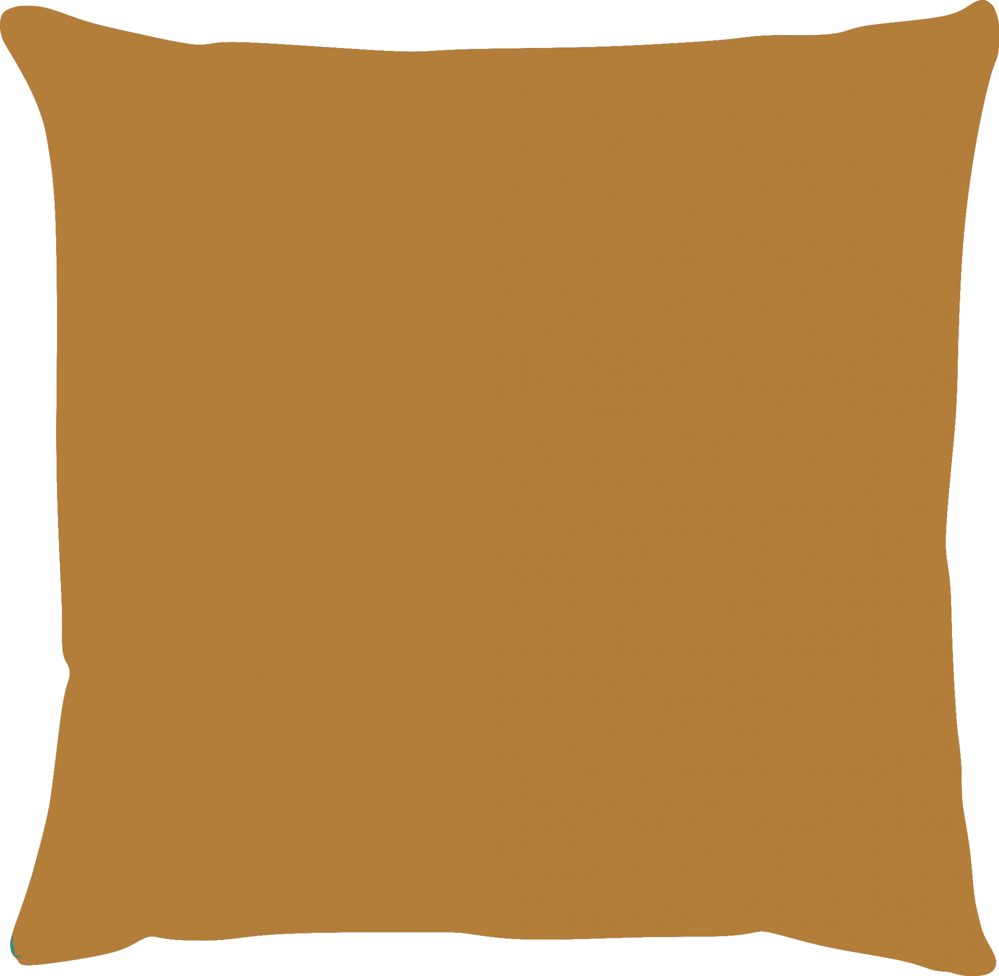 Capa de Almofada Lisa Suede Mostarda