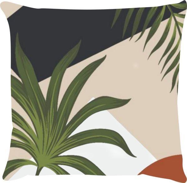 Capa de Almofada Naturale Terracota 45x45