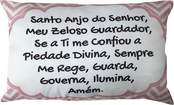 Capa Oração Santo Anjo