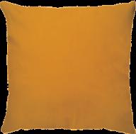 Capa de Almofada Lisa Suede Amarelo