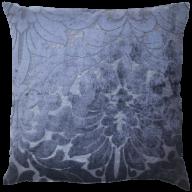 Capa Veludo Floral Azul Prussiano