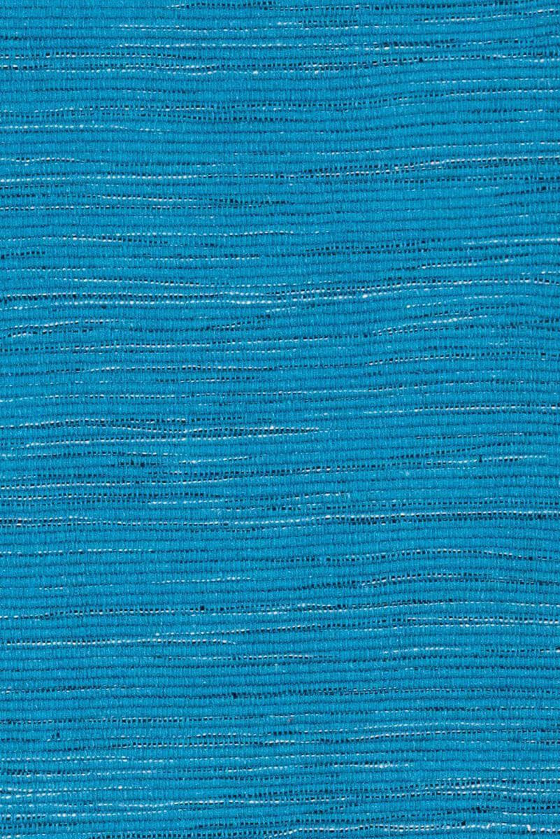 Kit Tapetes P/ Cozinha 3 Pcs Azul Branco