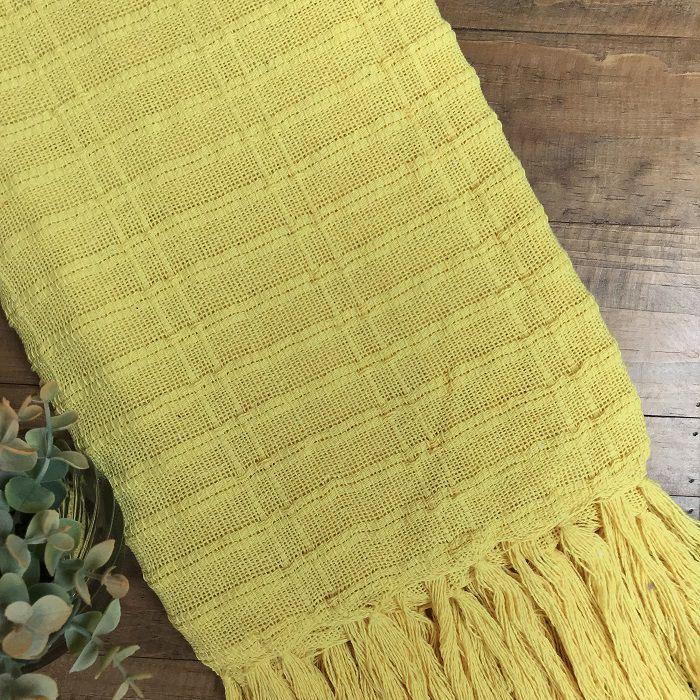 Manta Amarela (Algodão)