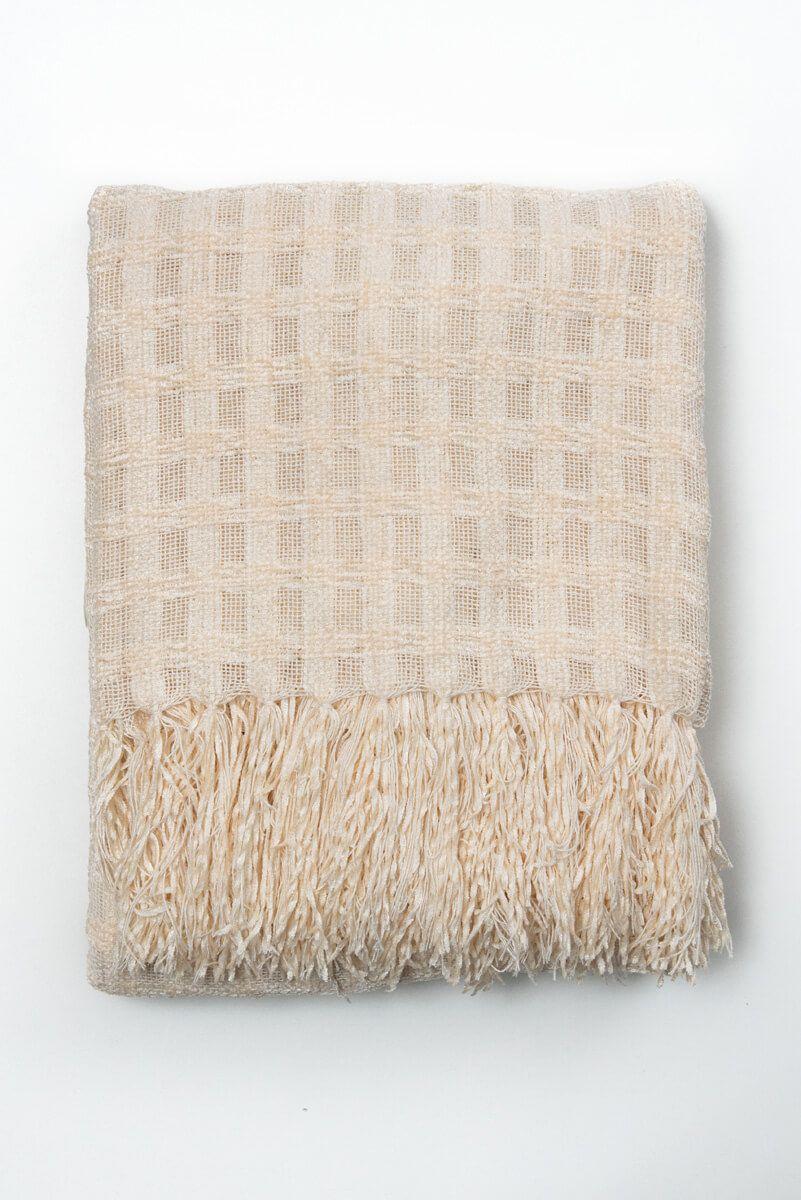 Manta Decorativa Alegro Cru 120x180