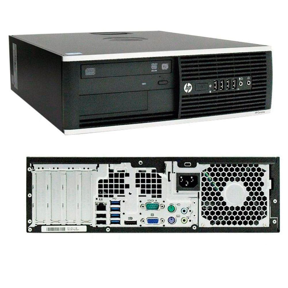 Cpu Hp Elite 8300 1155 I7 3ª Geração 4gb 500gb Rw Wifi - Extra Bit