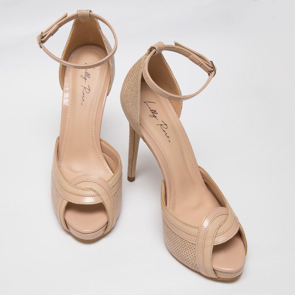 Sapato D'orsay Nude