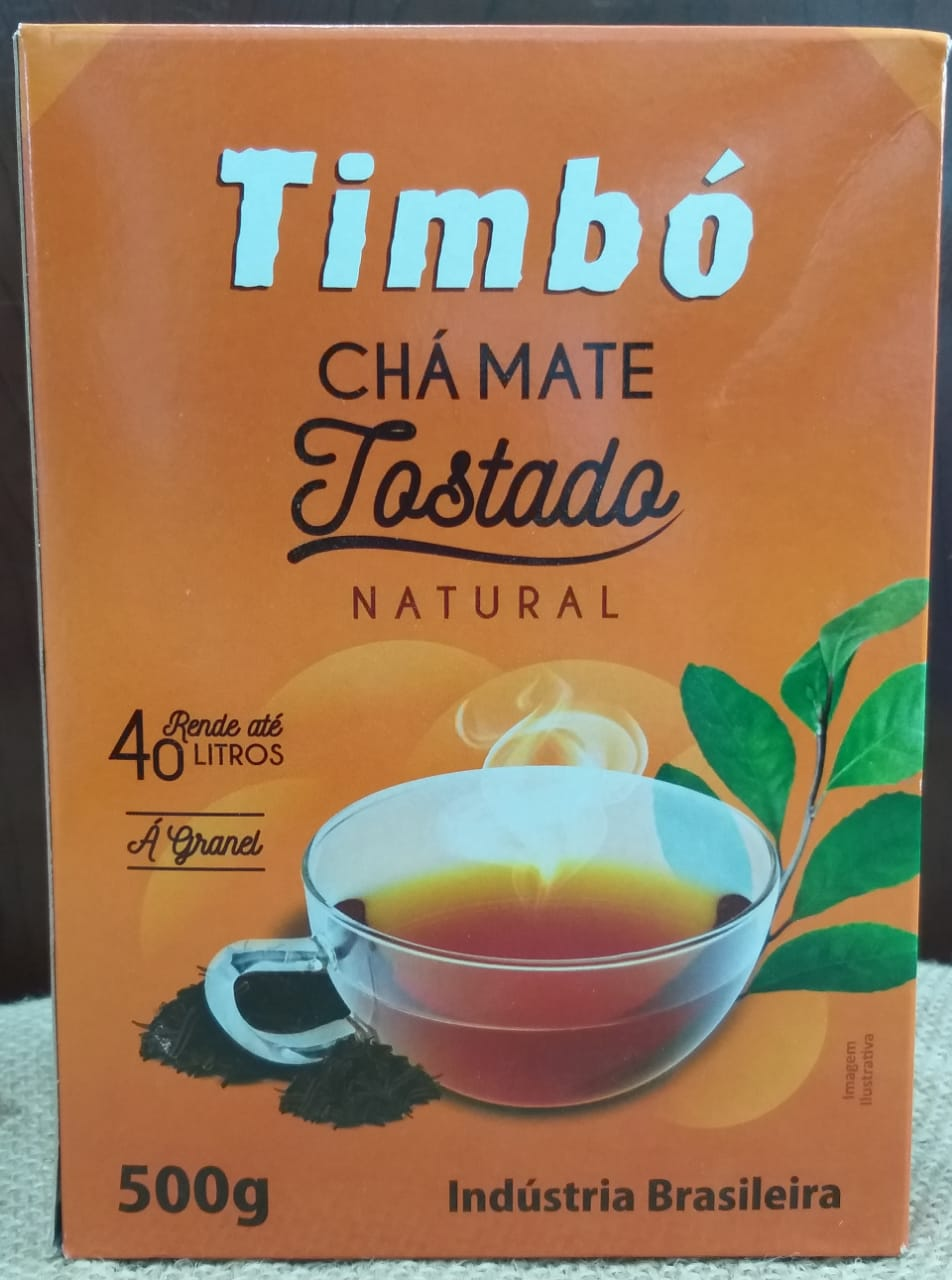Chá mate Tostado Timbó