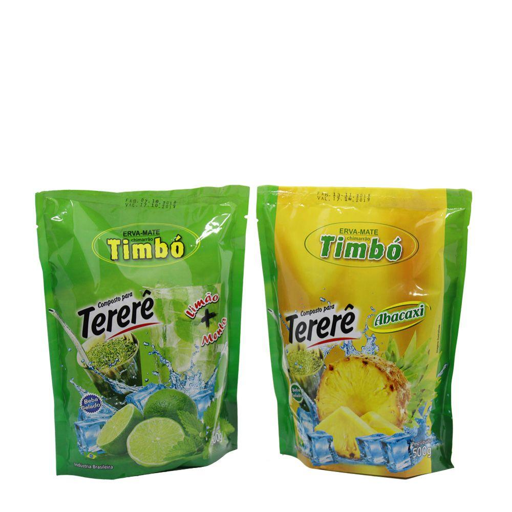 Combo 2 Unidades - Composto de Tererê Abacaxi + Composto de Tererê Limão e Menta 500g