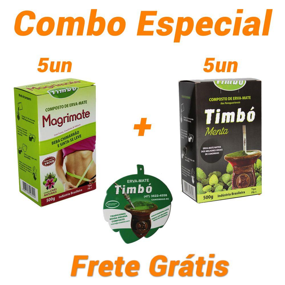 Combo - 5 Magrimate + 5 Menta + 1 Vira-mate + Frete Grátis