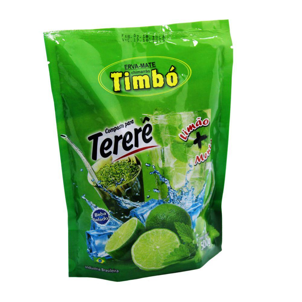 Composto de Tererê Limão e Menta 500g