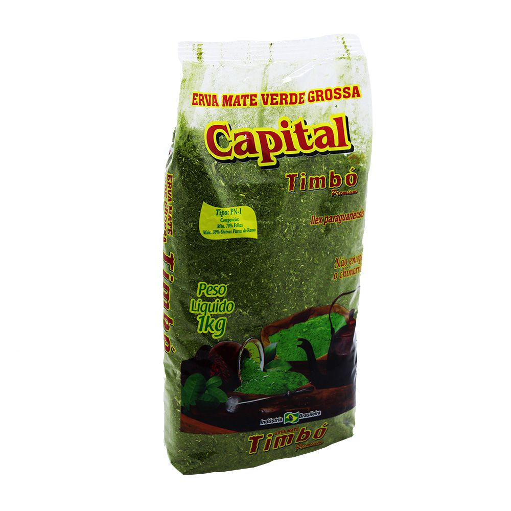 Erva Mate Chimarrão Capital 1kg
