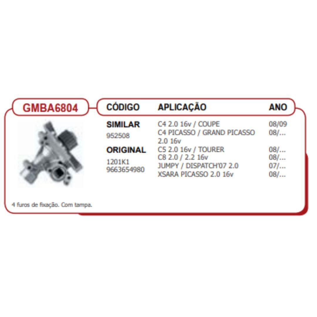 Bomba dagua citroen/peuge c4 08/09 2,0/16V