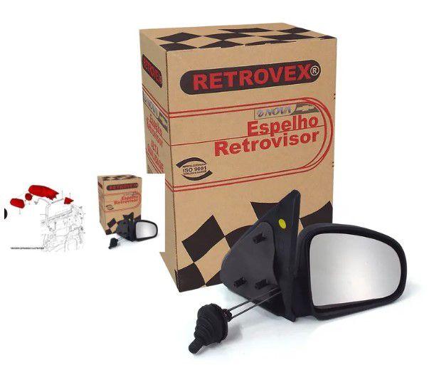 Retrovisor Celta 2001/2006-Ext-L/D-C/Ctrl