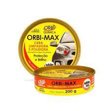 Cera limpadora e polidora 200g-23387-Orbi