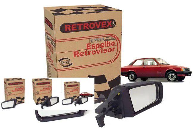 Retrovisor Chevette 87/ED-Ext-L/D-C/Ctrl-