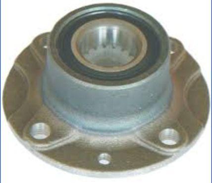 Cubo de Roda Traseiro (Forjado) C/ Rolamento Fiat Fiorino Até 1993 - SKF VKBA625