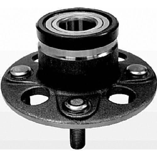 Cubo de Roda Traseiro (Forjado) C/ Rolamento Honda Fit C/ ABS - BREMA BCR13962