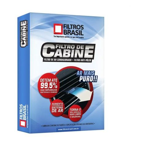 Filtro Cabine-Mégane 06/ED-Filtros Brasil-FB105