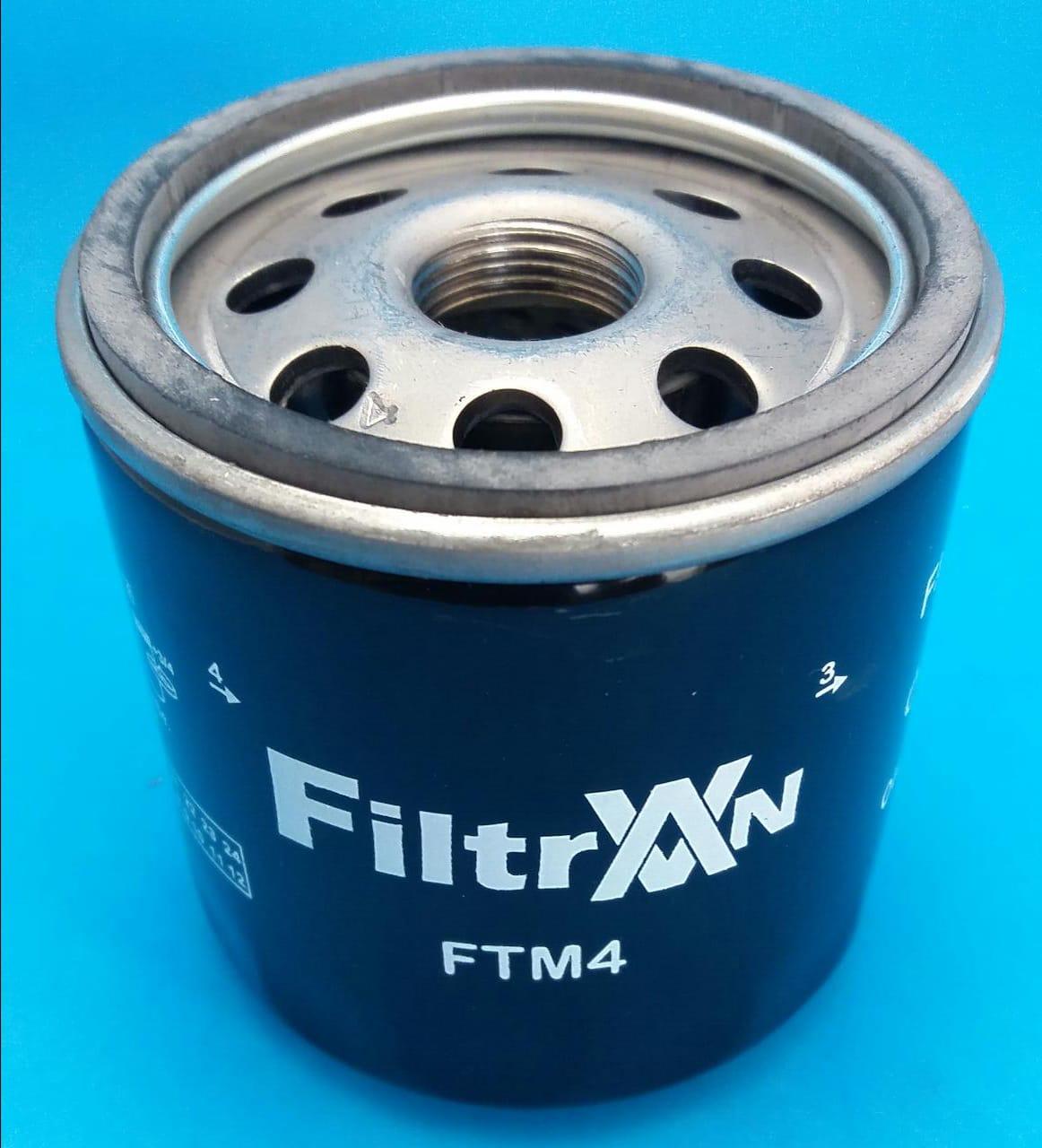 Filtro Oleo-Stilo-Palio-Peugeot 306/7/405-Doblo-Fiorino-TM4
