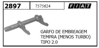 GARFO EMBREAGEM TEMPRA FIAT