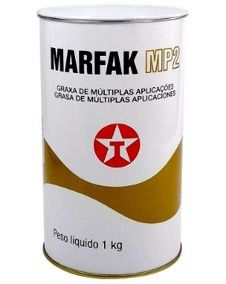 Graxa de Lítio Multiuso 1Kg Lata - Texaco Marfak MP2