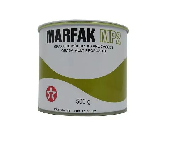 Graxa de Lítio Multiuso 500g Lata - Texaco Marfak MP2