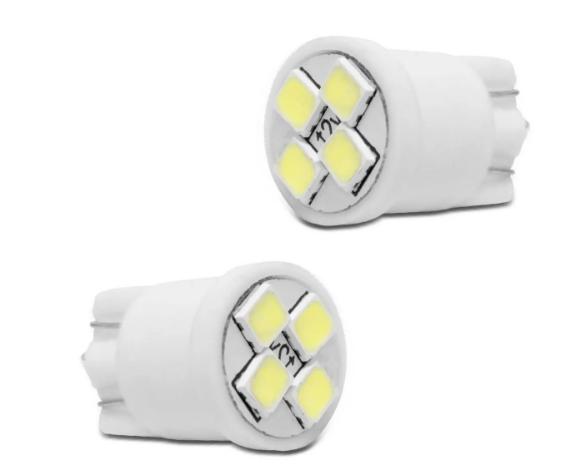 Kit Lampada Pingão Collwhite  4 LEDS