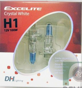 Lâmpada  Halógena H1 12V/55W - emb. c/ 02 lampadas- H1