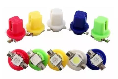 Lampada Pinguinho LEDS c/ soquete (PAR) AMARELA